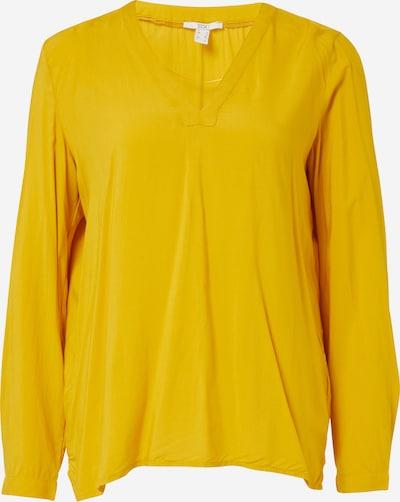 EDC BY ESPRIT Bluse in gelb: Frontalansicht