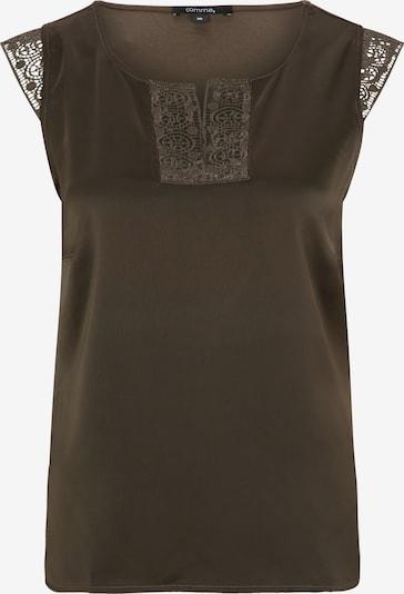 COMMA Blusentop in khaki, Produktansicht