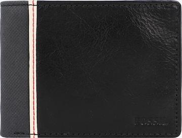 Porte-monnaies 'Elgin' FOSSIL en noir