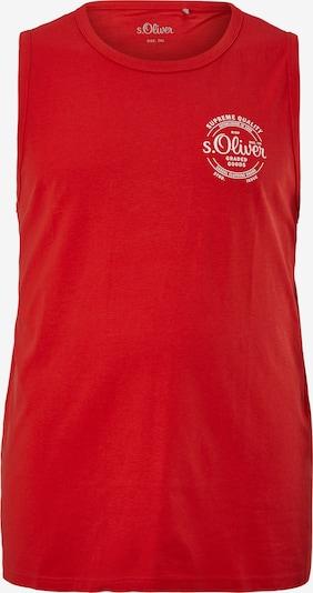 s.Oliver Shirt in de kleur Rood / Wit, Productweergave