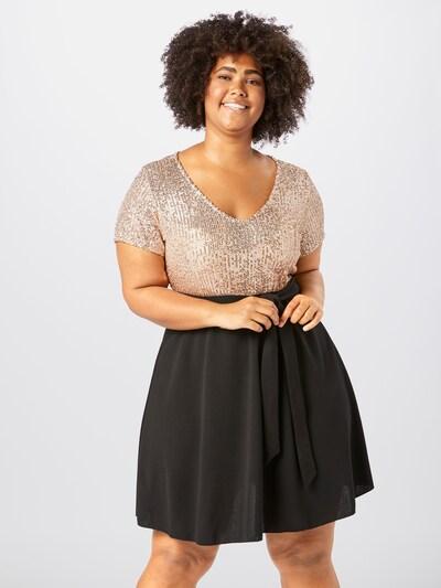 ABOUT YOU Curvy Kleid 'Mary Dress' in rosa / schwarz, Modelansicht