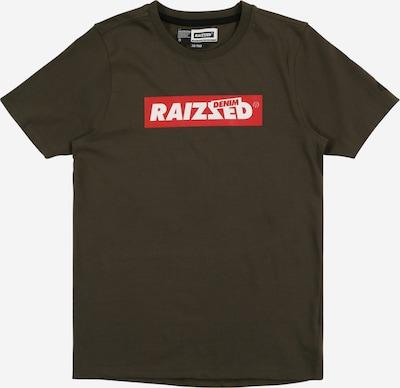 Raizzed Shirt 'Hamburg' in tanne / melone / weiß, Produktansicht