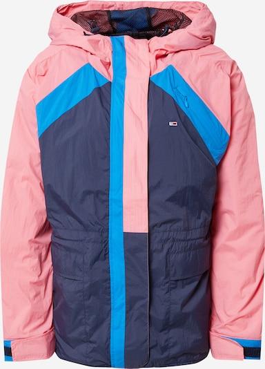 Tommy Jeans Jacke in blau / navy / rosa, Produktansicht