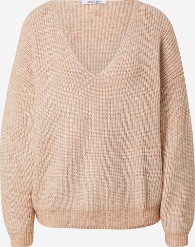 ABOUT YOU Pullover 'Nuria' in beige, Produktansicht