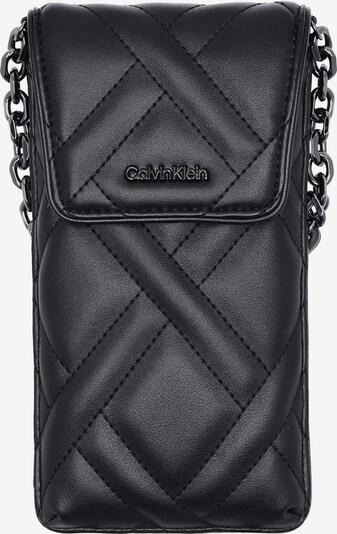 Calvin Klein Schoudertas in de kleur Zwart / Zilver, Productweergave