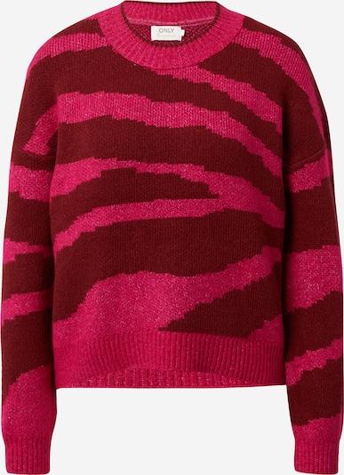 ONLY Sveter 'Wild' - ružová / hrdzavo červená, Produkt
