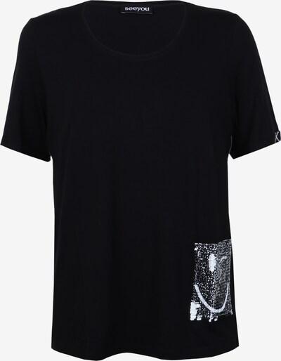 seeyou Shirt in schwarz, Produktansicht