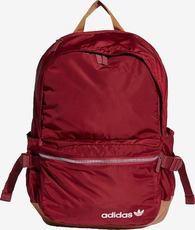 ADIDAS ORIGINALS Rucksack in sand / rot, Produktansicht