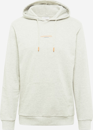 Lindbergh Sweat-shirt 'Copenhagen' en bleu / gris chiné / orange, Vue avec produit