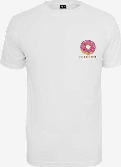 Merchcode T-Shirt 'Ring On It' in mischfarben / weiß, Produktansicht