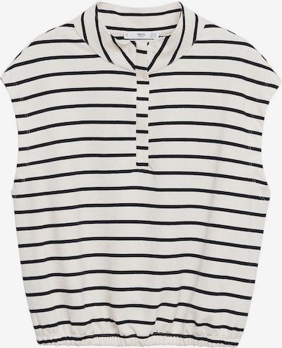 MANGO Sweatshirt 'AGNES' in schwarz / weiß, Produktansicht