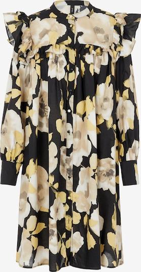 Y.A.S Shirt Dress 'Fluri' in Beige / Light yellow / Black, Item view