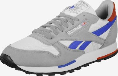 Reebok Classic Sneaker 'Classic Leather MU M' in royalblau / grau / orangerot / weiß, Produktansicht