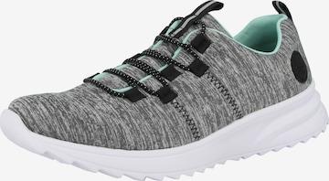RIEKER Slip-Ons in Grey