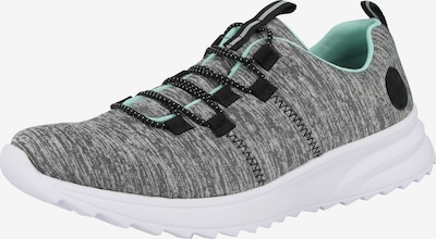 RIEKER Slip-Ons in mottled grey / Black, Item view
