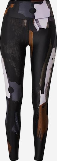 Casall Sportbroek in de kleur Brons / Donkergrijs / Zwart / Wit, Productweergave
