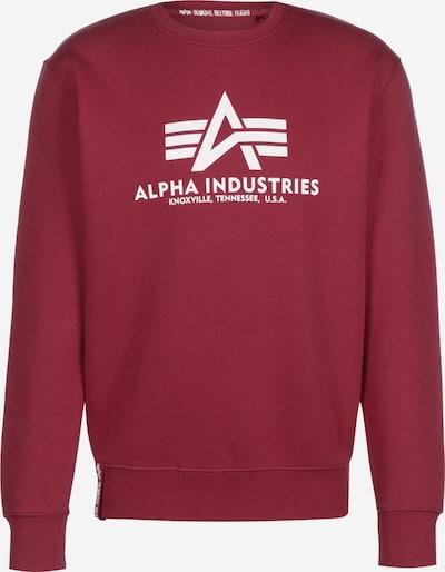 ALPHA INDUSTRIES Sweater in rot, Produktansicht