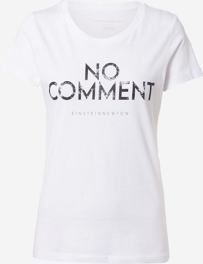 EINSTEIN & NEWTON T-shirt en noir / blanc, Vue avec produit
