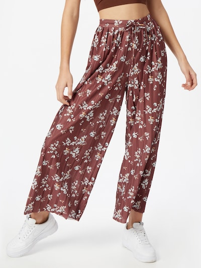 ABOUT YOU Harem trousers 'Viviana' in brown / mixed colours, View model