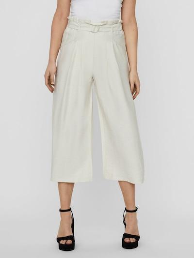 VERO MODA Pantalon en beige, Vue avec modèle