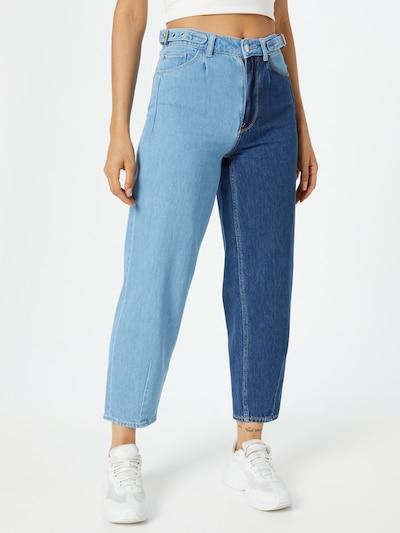 Pimkie Jeans in hellblau / dunkelblau, Modelansicht