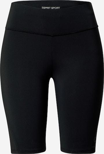 ESPRIT SPORT Sporthose 'Biker' in schwarz, Produktansicht