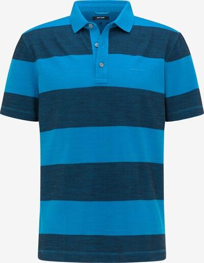 PIERRE CARDIN Poloshirt in himmelblau / dunkelblau, Produktansicht