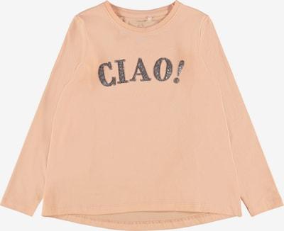 NAME IT Shirt 'Lissie' in pfirsich / silber, Produktansicht