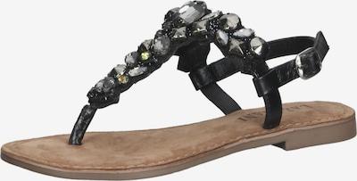 LAZAMANI Sandale in schwarz, Produktansicht