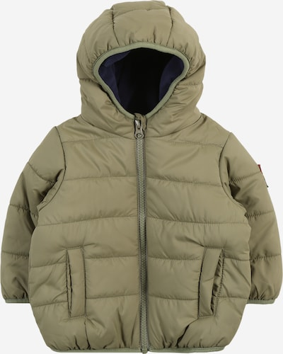 UNITED COLORS OF BENETTON Jacke in dunkelblau / khaki, Produktansicht
