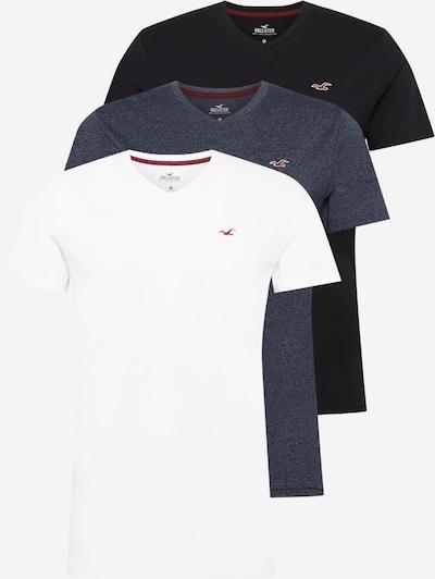 HOLLISTER Koszulka w kolorze granatowy / czarny / białym, Podgląd produktu