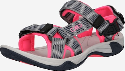 CMP Trekking sandal 'Hamal' in Grey / Neon pink / Black, Item view
