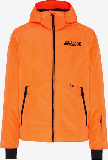 CHIEMSEE Skijacke 'Thredbo' in orange / schwarz / weiß, Produktansicht