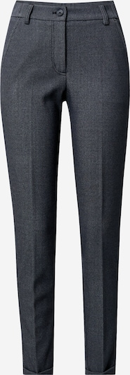 OPUS Viikidega püksid 'Melina' sinine / must, Tootevaade