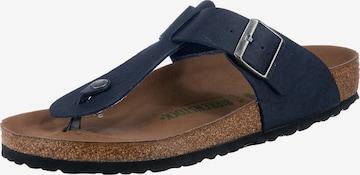 BIRKENSTOCK T-Bar Sandals 'Medina' in Blue