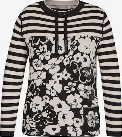 Rabe Pullover in ecru / schwarz, Produktansicht