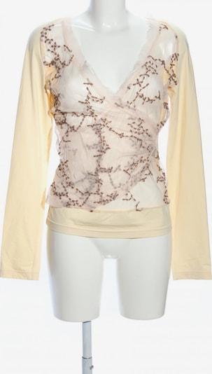 Sonja Kiefer Transparenz-Bluse in L in creme, Produktansicht