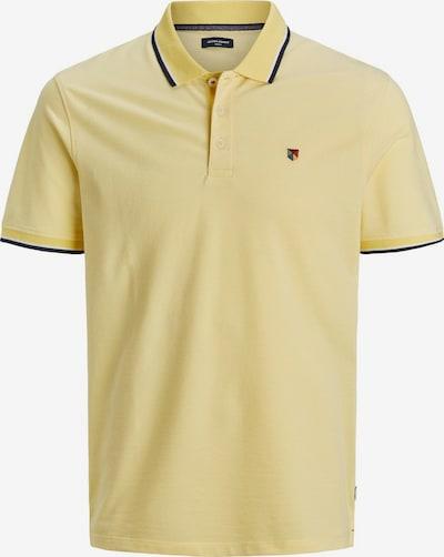 JACK & JONES Pikee Poloshirt in dunkelgelb, Produktansicht