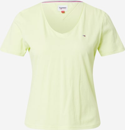 Tommy Jeans Shirt in limette, Produktansicht
