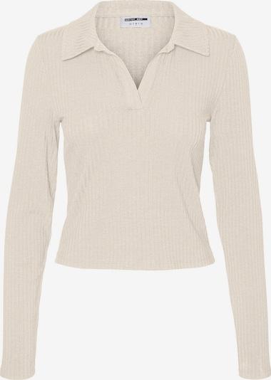 Noisy may Shirt 'Clara' in creme, Produktansicht