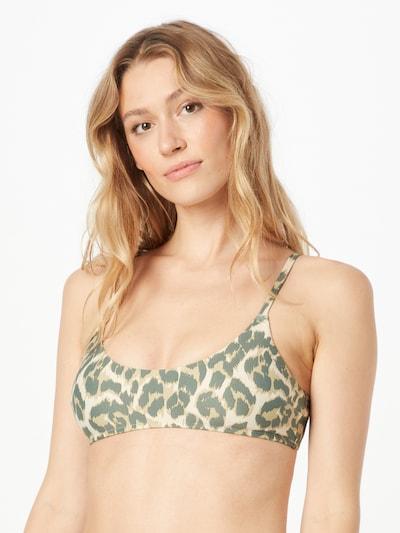 bézs / khaki / olíva AERIE Bikini felső 'SCOOP STRAPPY', Modell nézet