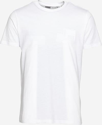 !Solid T-Krekls 'Dave' sudrabpelēks / balts, Preces skats