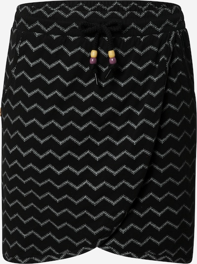 Ragwear Rok 'NAILA' in de kleur Zwart / Wit, Productweergave