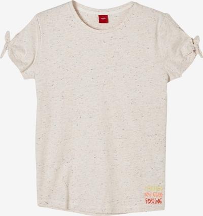 s.Oliver T-Shirt in ecru / marine, Produktansicht