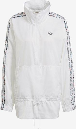 ADIDAS ORIGINALS Prijelazna jakna u svijetloplava / prljavo roza / crna / bijela, Pregled proizvoda
