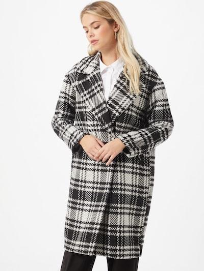 ONLY Mantel 'DAJANA' in schwarz / weiß, Modelansicht