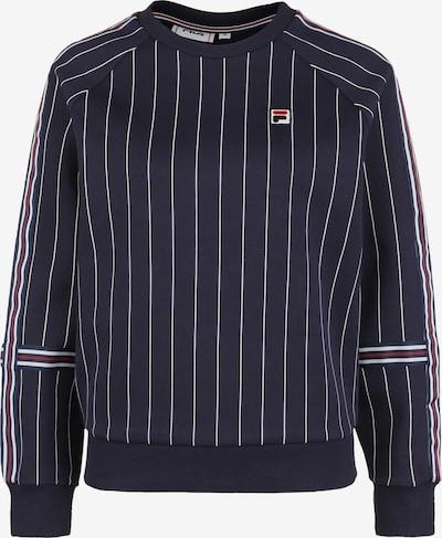 FILA Sportief sweatshirt in de kleur Donkerblauw / Rood / Wit, Productweergave