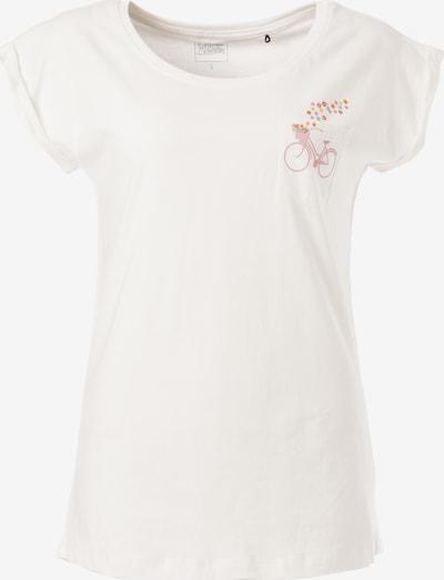 Lakeville Mountain T-Shirt 'Chani' in mischfarben / weiß, Produktansicht