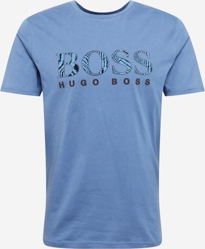 BOSS Casual Majica | dimno modra / črna barva, Prikaz izdelka
