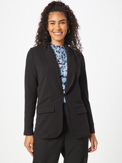 VILA Blazer 'Loan' in schwarz, Modelansicht